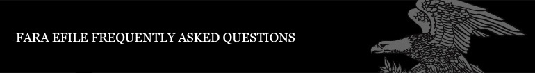 FARA Frequently-Asked Questions